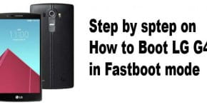 boot lg g4 into fastboot mode