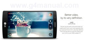 record slow motion videos on LG G4
