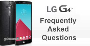 LG G4 Frequently Asked Questions