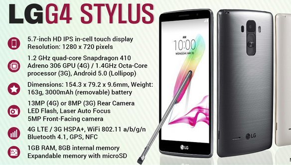 LG G4 Stylus User Guide